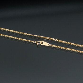 2面喜平ネックレス(二面キヘイ)K18ゴールド10g-60cm造幣局検定刻印入