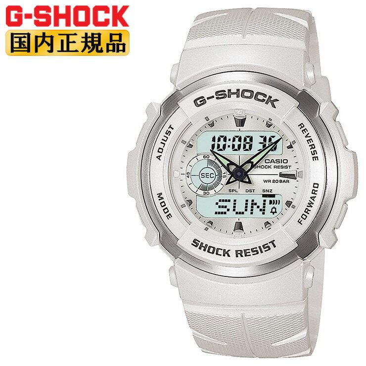 [クーポン配布中] G-SHOCK Gショック G-300LV-7AJF CASIO カシオ G-SPIKE Gスパイク デジタル×アナログコンビ パールホワイト 白 メンズ 腕時計 【正規品】【レビューで3年保証】【あす楽】【在庫あり】