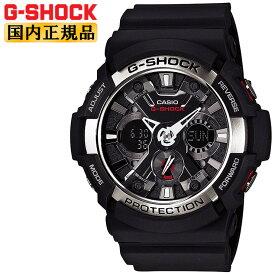 正規品 G-SHOCK ブラック カシオ Gショック GA-200-1AJF CASIO デジタル&アナログ コンビネーション ビッグケース 黒 メンズ 腕時計 【正規品/送料無料】【レビューで3年保証】【あす楽】【在庫あり】