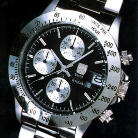 エルジン 時計 ELGIN 腕時計 FK1184S-B 200M防水 クロノグラフ機能 カレンダー付き 【02P26Mar16】 【RCP】 【_腕時計】