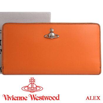 ヴィヴィアンウエストウッド財布ヴィヴィアンVivienneWestwoodラウンドファスナー長財布