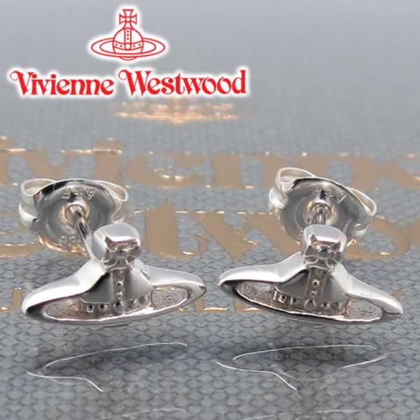 ヴィヴィアンウエストウッド ピアス Vivienne Westwood ヴィヴィアン ナノオーブシルバーピアス 【あす楽】【送料無料】