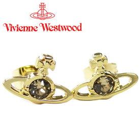 ヴィヴィアンウエストウッド ピアス Vivienne Westwood ヴィヴィアン レディース ナノソリティアピアス ゴールド(旧タイプ) 【お取り寄せ】