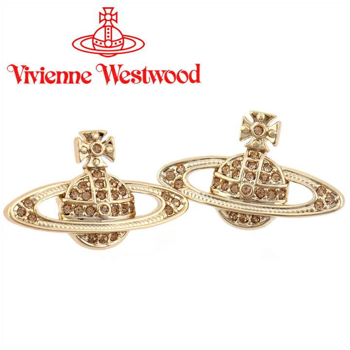 ヴィヴィアンウエストウッド ピアス Vivienne Westwood ヴィヴィアン ミニバスレリーフピアス ゴールド 724535B/2 【あす楽】【送料無料】