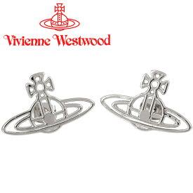 ヴィヴィアンウエストウッド ピアス Vivienne Westwood ヴィヴィアン シンラインフラットオーブピアス シルバー 62010011-W003 【あす楽】【送料無料】