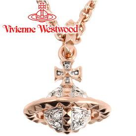 ヴィヴィアンウエストウッド ネックレス Vivienne Westwood ヴィヴィアン メイフェア3Dスモールオーブペンダント ピンクゴールド 63020051-G118(MT12626/4) 【あす楽】【送料無料】