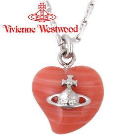 ヴィヴィアンウエストウッド ネックレス Vivienne Westwood ヴィヴィアン リズペンダント ピンクコーラル