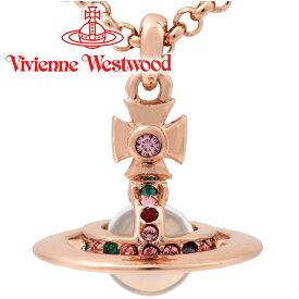 ヴィヴィアンウエストウッド ネックレス Vivienne Westwood ヴィヴィアン プチオーブペンダント ピンクゴールド 752116B/3 【あす楽】【送料無料】