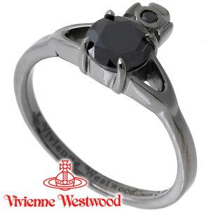 ヴィヴィアンウエストウッド リング 指輪 レディース Vivienne Westwood ヴィヴィアン レイナプチリング ガンメタル 64040006-S106(SR1402/4) 【あす楽】【送料無料】【クリスマスプレゼント Xmas】