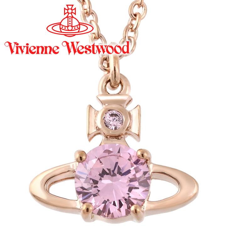 ヴィヴィアンウエストウッド ネックレス レディース Vivienne Westwood ヴィヴィアン レイナペンダント ピンクゴールド BP1387/2 【お取り寄せ】【送料無料】【クリスマス プレゼント】