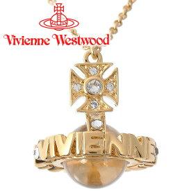 ヴィヴィアンウエストウッド ネックレス レディース Vivienne Westwood ヴィヴィアン ペイズリースモールオーブペンダント ゴールド 752572B/2 【あす楽】【送料無料】