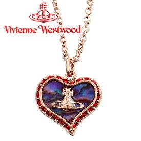 ヴィヴィアンウエストウッド ネックレス レディース Vivienne Westwood ヴィヴィアン ペトラペンダント ピンクゴールド 63020103-G165 【あす楽】【送料無料】