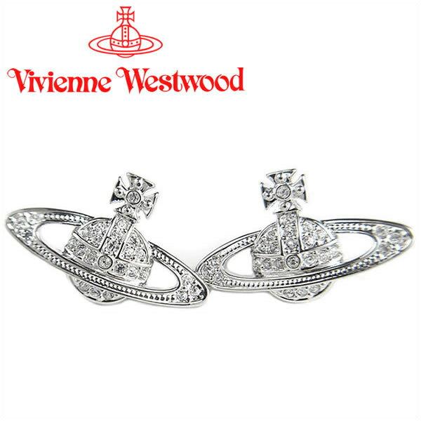 ヴィヴィアンウエストウッド ピアス Vivienne Westwood ヴィヴィアン レディース ミニバスレリーフピアス シルバー 724535B/1 【あす楽】【送料無料】