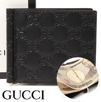 0298b75faad5 グッチ 財布 GUCCI クリップ付き二つ折り財布 グッチシマ メンズ ブラック 170580-CWC1N-1000