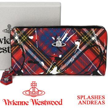 ヴィヴィアンウエストウッドVivienneWestwoodラウンドファスナー財布