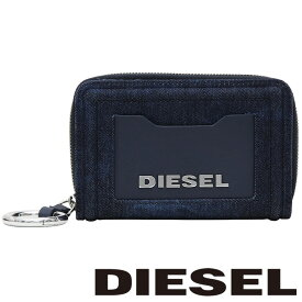 ディーゼル 二つ折り財布 DIESEL 財布 レディース メンズ インディゴブルー デニム X07394 PR573 H6018【あす楽】【送料無料】
