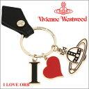 ヴィヴィアンウエストウッド キーホルダー キーリング Vivienne Westwood ブラック 321566 BLACK 【送料無料】【あす楽】