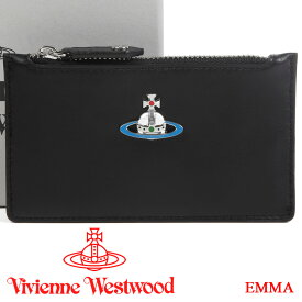ヴィヴィアンウエストウッド カードケース ミニ財布 Vivienne Westwood ヴィヴィアン 小銭入れ メンズ レディース ブラック 51110039 EMMA BLACK 【あす楽】【送料無料】