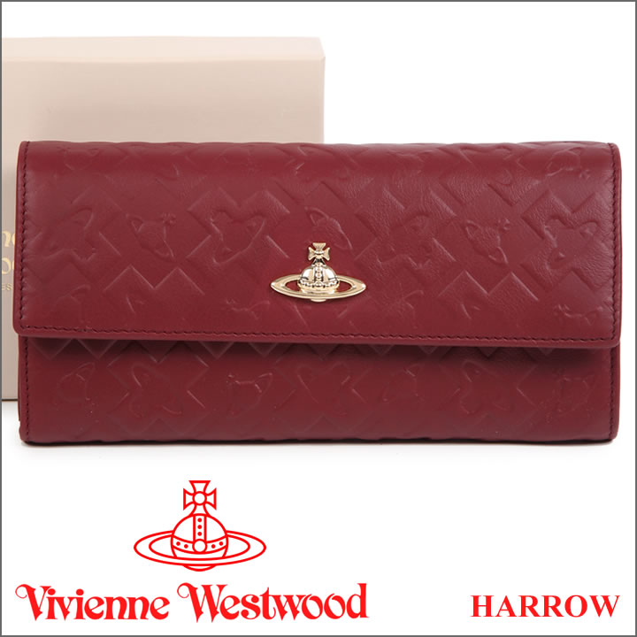 ヴィヴィアンウエストウッド 財布 ヴィヴィアン Vivienne Westwood 長財布 レディース ボルドー 321515 HARROW BORDEAUX 【送料無料】【あす楽】【春財布 福財布】