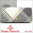 ヴィヴィアンウエストウッド 財布 ヴィヴィアン Vivienne Westwood 長財布 レディース メンズ チェック 1032V MAC JOE 【あす楽】【送…