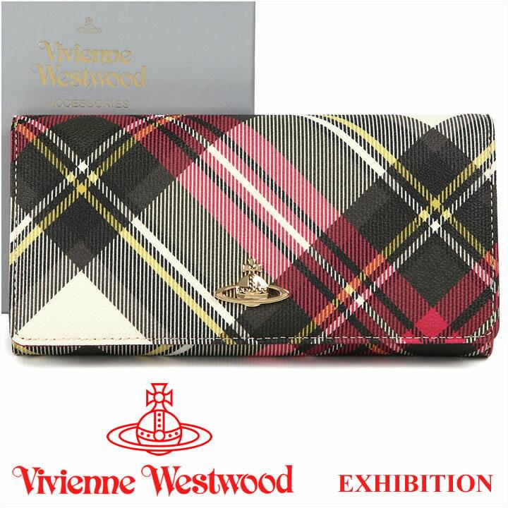 ヴィヴィアンウエストウッド 財布 ヴィヴィアン Vivienne Westwood 長財布 1032V EXHIBITION 17SS 【送料無料】【あす楽】【春財布 福財布】