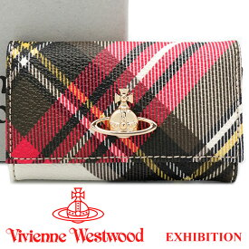 ヴィヴィアンウエストウッド キーケース Vivienne Westwood ヴィヴィアン 6連キーケース 51020001 DERBY EXHIBITION 【あす楽】【送料無料】