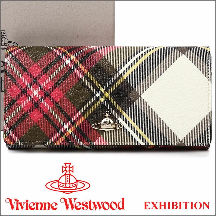 ヴィヴィアンウエストウッド 財布 ヴィヴィアン Vivienne Westwood 長財布 1032V EXHIBITION 17AW 【送料無料】【あす楽】【春財布 福財布】
