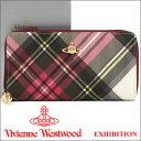 ヴィヴィアンウエストウッド 長財布 ヴィヴィアン Vivienne Westwood ラウンドファスナー財布 5140V EXHIBITION 17SS 【春財布 福財布】