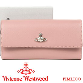 c5d1a71e9d7d ヴィヴィアンウエストウッド 長財布 ヴィヴィアン Vivienne Westwood レディース 財布 ピンク 51060022 PIMLICO  PINK 19SS 【
