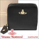 ヴィヴィアンウエストウッド 財布 ヴィヴィアン Vivienne Westwood レディース メンズ 二つ折り財布 ブラック 321524 OPIO SAFFIANO BL…