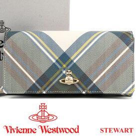ヴィヴィアンウエストウッド 財布 ヴィヴィアン Vivienne Westwood 長財布 レディース メンズ チェック 51060025 STEWART 【あす楽】【送料無料】