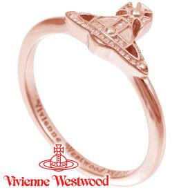 ヴィヴィアンウエストウッド リング 指輪 レディース Vivienne Westwood ヴィヴィアン オスロリング ピンクゴールド SR1842/3 【あす楽】【送料無料】
