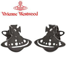 ヴィヴィアンウエストウッド ピアス レディース Vivienne Westwood ヴィヴィアン イエニピアス ガンメタル BE1509/4 【あす楽】【送料無料】