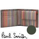ポールスミス財布PaulSmith二つ折り財布メンズ