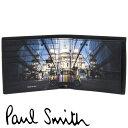 ポールスミス 財布 Paul Smith 二つ折り財布 メンズ ブラック MINI ミニクーパー M1A-4833-FMINSP 79 【あす楽】【送料無料】【並行輸…