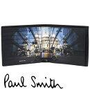 ポールスミス財布PaulSmith二つ折り財布メンズブラックミニクーパーM1A-4833-AMINRCPR【並行輸入品】