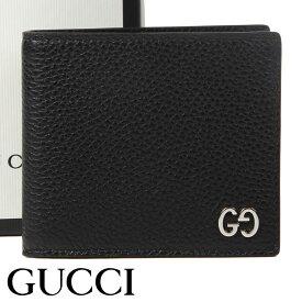 グッチ 財布 GUCCI 二つ折り財布 ドリアン メンズ ブラック 473922-A7M0N-1000 【あす楽】【送料無料】