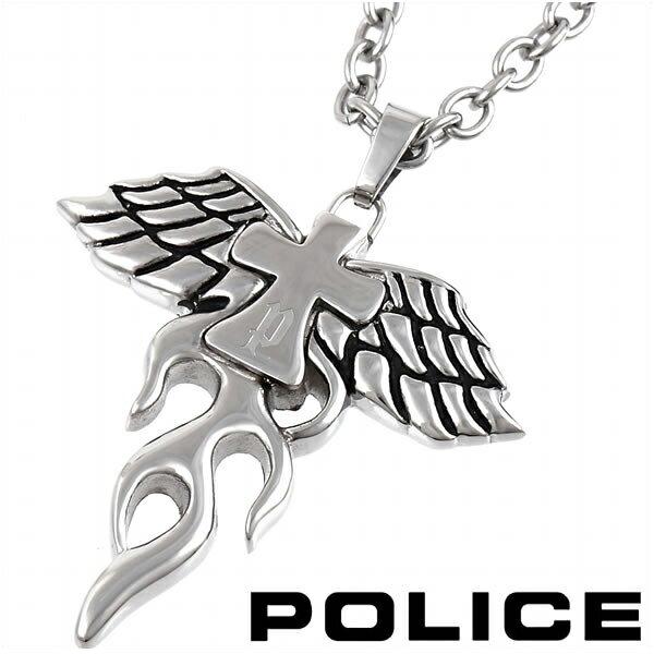 ポリス ネックレス クロスペンダント メンズ POLICE PHOENIX 25328PSS01 【バレンタイン】