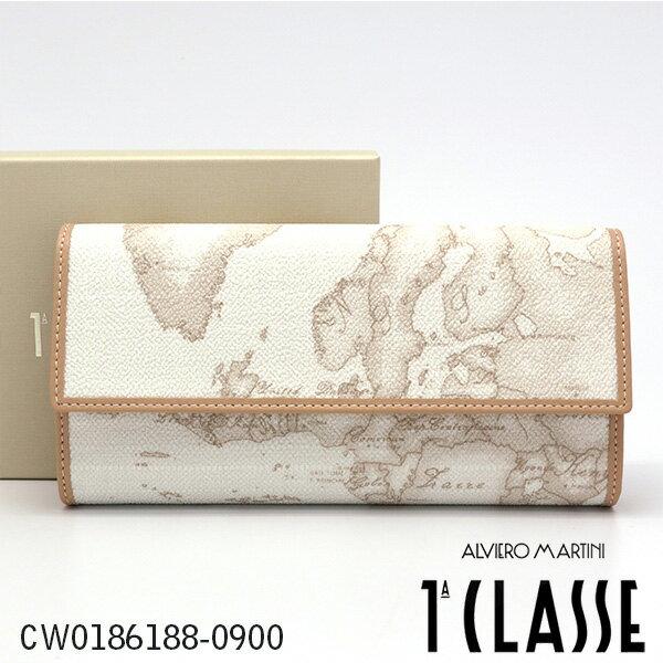 プリマクラッセ 長財布 Prima Classe 財布 ホワイト 世界地図柄 CW0186188-0900 【並行輸入品】