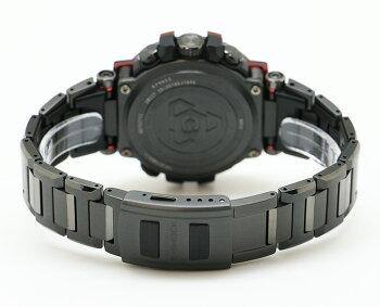 カシオGショックMT-G電波ソーラースマートフォンリンクブラック&レッドカーボンベゼルMTG-B1000XBD-1AJFCASIOG-SHOCKタフソーラー電波時計Bluetooth搭載レイヤーコンポジットバンド黒赤メンズ腕時計【あす楽】