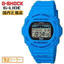 カシオ Gショック 電波 ソーラー スポーツライン Gライド ブルー GWX-5700CS-2JF CASIO G-SHOCK G-LIDE タフソーラー 電波時計 デジタ…