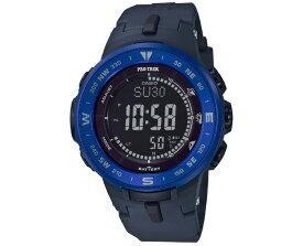 カシオ プロトレック ソーラー トリプルセンサー ブルー&ネイビー PRG-330-2JF CASIO PRO TREK タフソーラー デジタル 青 紺色 メンズ 腕時計