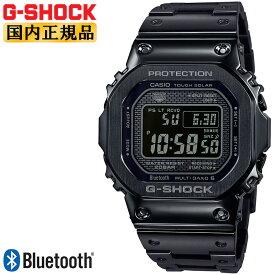 カシオ Gショック オリジン 電波 ソーラー スマートフォンリンク オールブラック GMW-B5000GD-1JF CASIO G-SHOCK ORIGIN Bluetooth搭載 電波時計 フルメタル スクリューバック 黒 メンズ 腕時計 【あす楽】