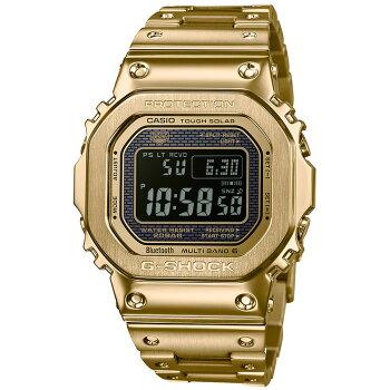 カシオGショックオリジン電波ソーラースマートフォンリンクゴールドGMW-B5000GD-9JFCASIOG-SHOCKORIGINBluetooth搭載電波時計フルメタルスクリューバック金メンズ腕時計