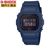 カシオショックオリジンネイビーDW-5600BBM-2JFCASIOG-SHOCKORIGINデジタル黒メンズ腕時計