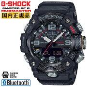 カシオGショックマッドマスターカーボンコアガード構造スマートフォンリンクブラックGG-B100-1AJFCASIOG-SHOCKMUDMASTERBluetooth搭載デジタル&アナログコンビネーション黒メンズ腕時計