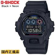 カシオGショックオリジン6900ブラック&ネオンDW-6900BMC-1JFCASIOG-SHOCKORIGINBlack×Neonデジタル黒反転液晶メンズ腕時計