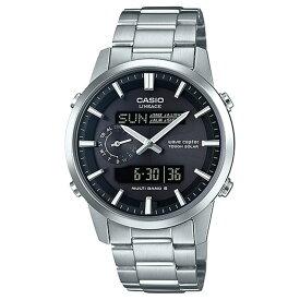 [正規品] カシオ ソーラー 電波時計 リニエージ LCW-M600D-1BJF CASIO Wave Ceptor LINEAGE ステンレスバンド デジタル&アナログ ブラック 黒 メンズ 腕時計 (LCWM600D1BJF)【あす楽】