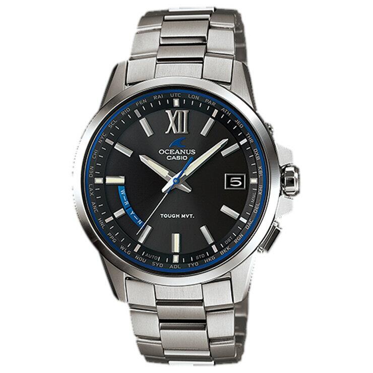 オシアナス OCEANUS OCW-T150-1AJF CASIO カシオ ソーラー 電波時計 タフムーブメント スマートアクセス クラシックライン 上質な3針タイプ メンズ 腕時計 【あす楽】【在庫あり】