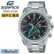 カシオエディフィスソーラースマートフォンリンク機能スーパースリムラインEQB-1000YD-1AJFCASIOEDIFICEBluetooth搭載モバイルリンクアナログメンズ腕時計
